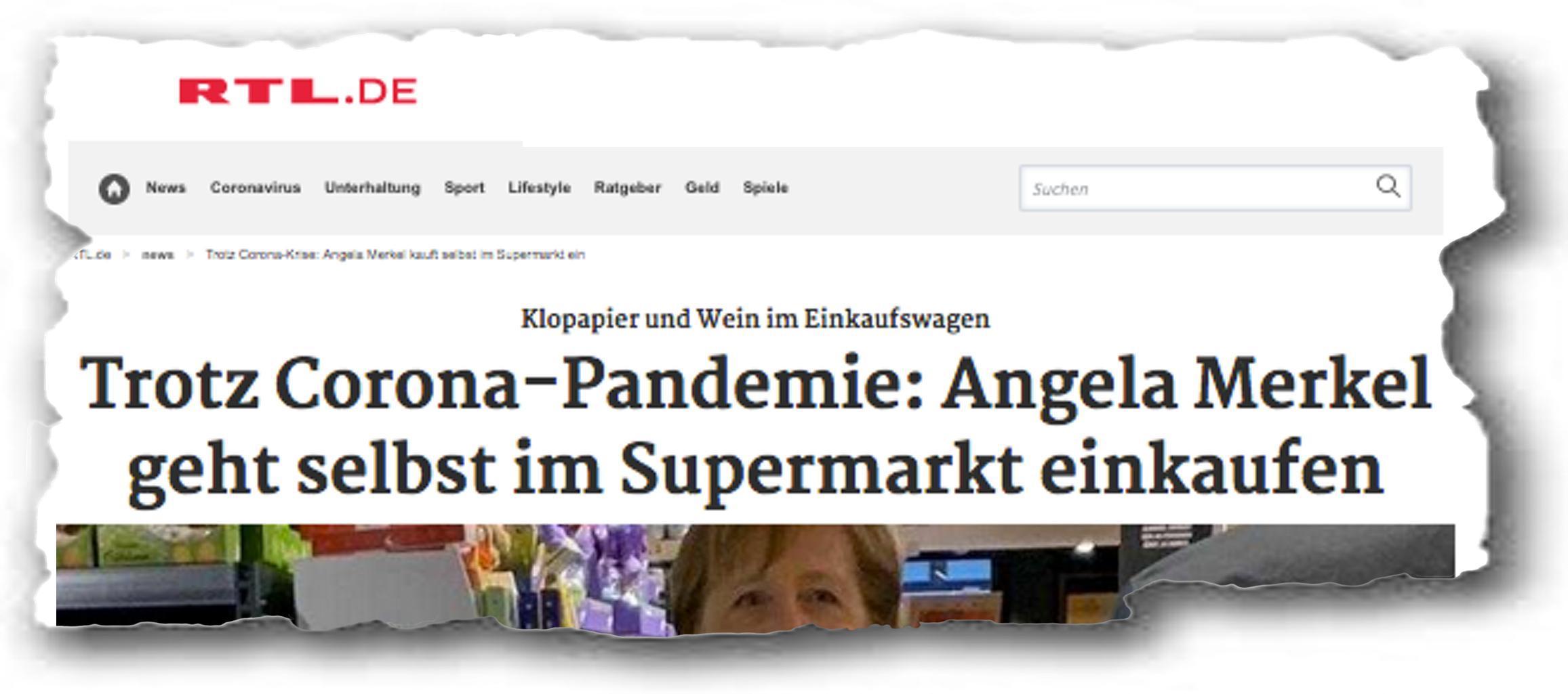 Merkel Rtl